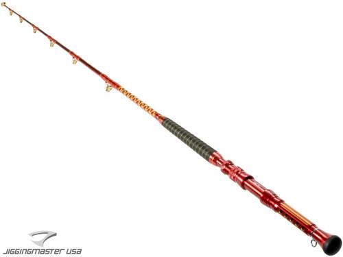 """Wiki Jigging 7"""" Ocean Fire 40-100LB Class Trolling / Boat Rod"""