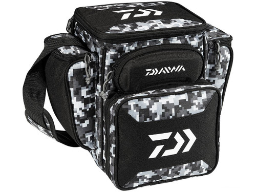Daiwa D-VEC Tactical Soft Sided Tackle Box - Medium / Desert Camo