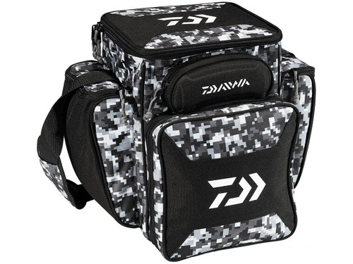 Daiwa D-VEC Tactical Soft Sided Tackle Box - Large / Digital Camo