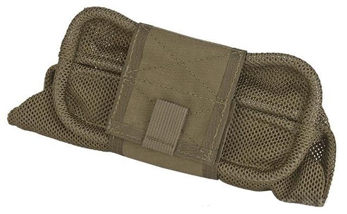HSGI Belt Mount Mag-Net Tactical Mesh Dump Pouch - Coyote Brown