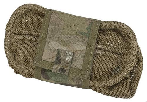 HSGI Belt Mount Mag-Net Tactical Mesh Dump Pouch - Multicam