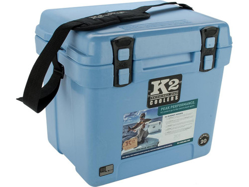 K2 Coolers Summit 20 Ice Chest (Color: Cool Blue)