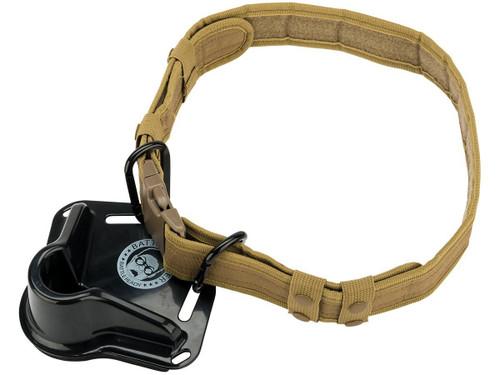 "Battle Angler ""High Speed Operator"" Deep Sea Fighting Belt System (Model: Alpha Black Coyote)"
