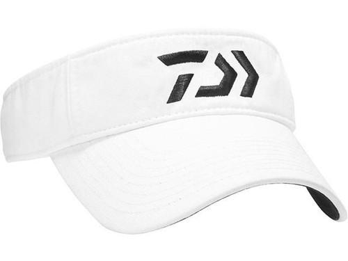 Daiwa D-VEC Logo Visor - White