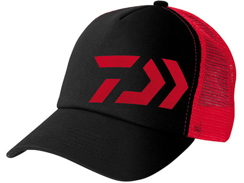 Daiwa D-Vec Mesh Trucker Cap - Red / Black