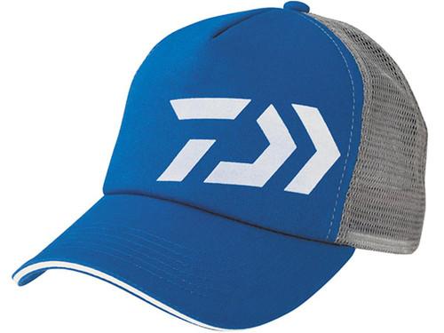 Daiwa D-Vec Mesh Trucker Cap - Blue / Grey