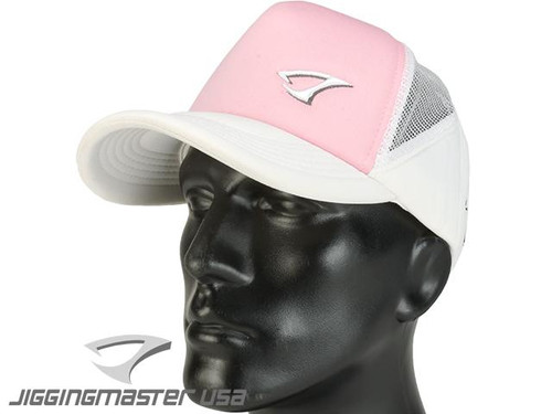 Jigging Master Extreme 3D Fishing Ball Cap (Color: White/Pink)
