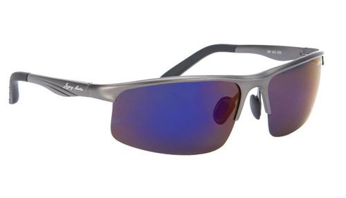 Jigging Master Monster Game Polarized Sun Glasses (Model: Blue Silver)