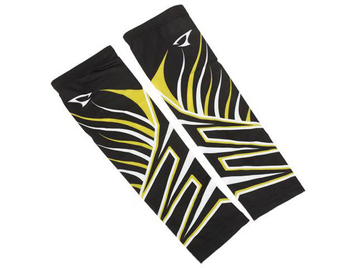 Jigging Master UV Cover-Up Arm Sleeves (Color: Black / Yellow)