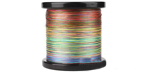 Battle Angler 8x depth finder color coded braid PE fishing line (Size: 100 Lbs)