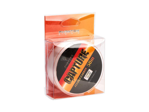 Battle Angler Phantom Capture Fluocarbon Leader Line (Model: 30LB 0.50mm 50M / 165 feet)