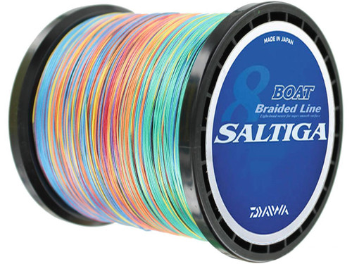 Daiwa Saltiga Boat Braided Line for Dendoh Style Fishing - 100 Pounds / 1970 yards