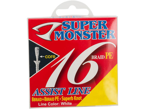 Jigging Master Super Monster Assist Line (Size: #30/250lb)