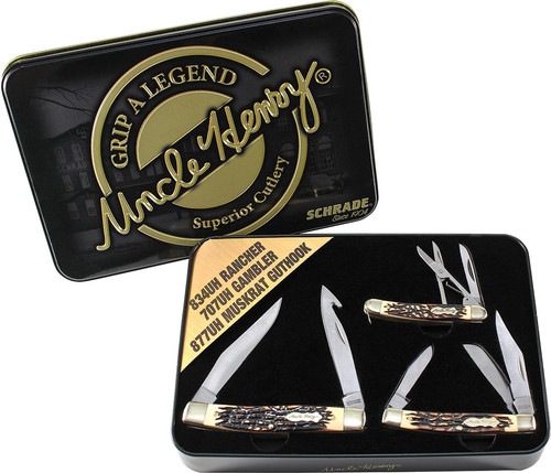 Uncle Henry 2015 Gift Tin Set