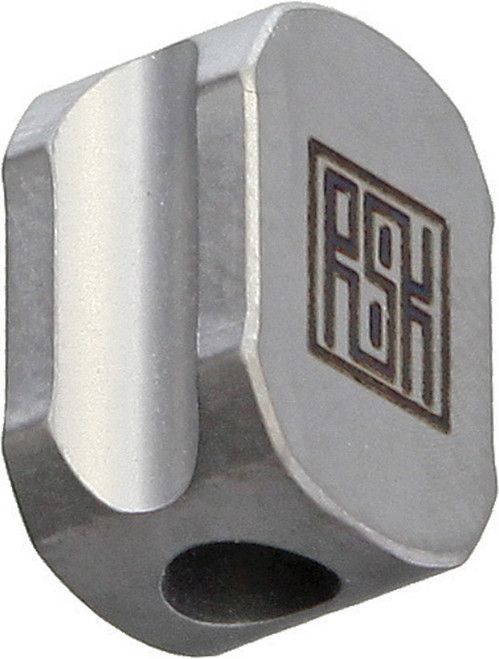 Titanium Hexagon Lanyard Bead