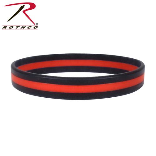 Rothco Thin Red Line Wristband
