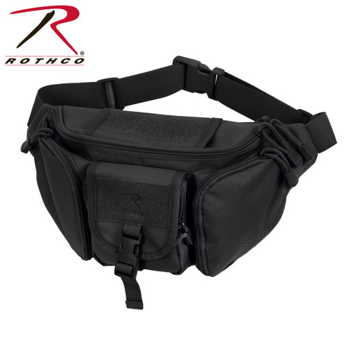Rothco Tactical Waist Pack - Black