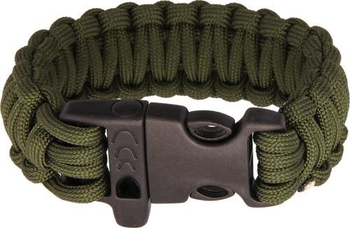 Survival Bracelet OD  Green