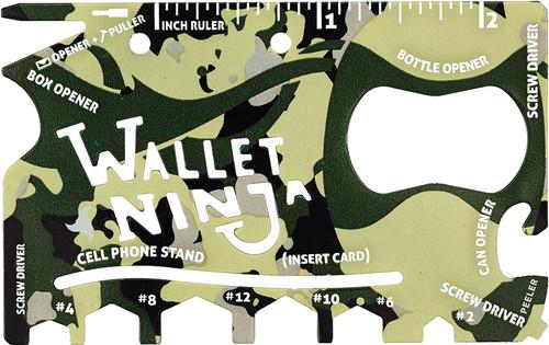 Wallet Ninja Camo