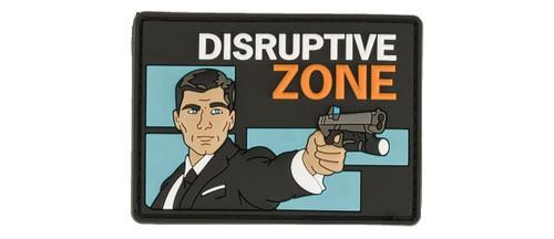 """Haley Strategic Partners """"Disruptive Zone"""" PVC Morale Patch"""