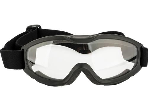 Guard-Dogs Evader II FogStopper Full Seal Goggles - Matte Black / Clear