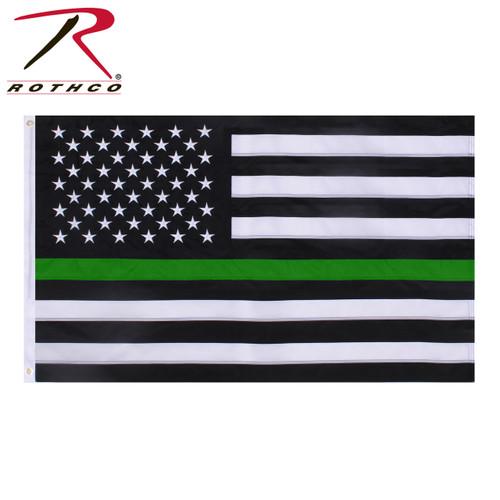 Rothco Thin Green Line Flag