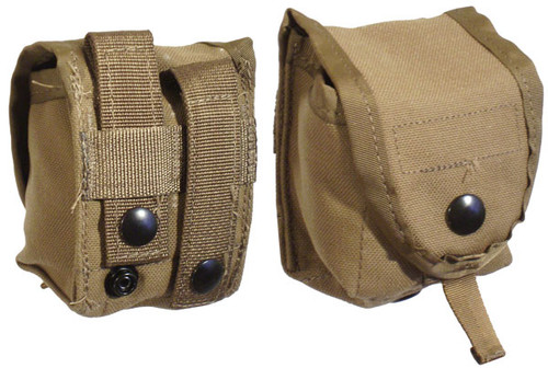 U.S. Armed Forces MOLLE Hand Grenade Pouch Coyote