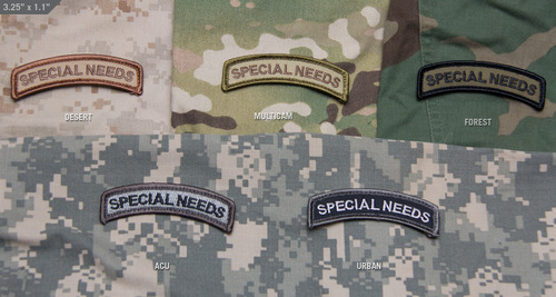 MSM Special Needs Moral Patch