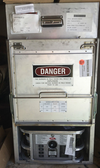 U.S. Armed Forces M59 Field Range Stove