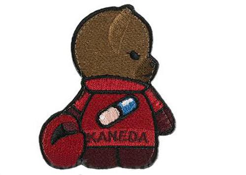 """Orca Industries """"Kuma Korps - Kaneda Bear"""" Embroidered Patch"""