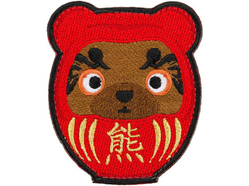 "ORCA Industries ""Kuma Korps - Daruma CLR"" Embroidered Patch"