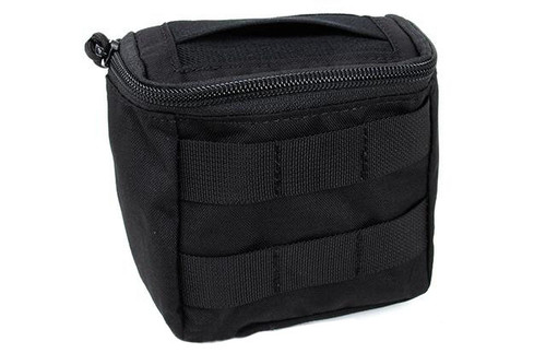 TMC Disposable EMT Glove Pouch - Black