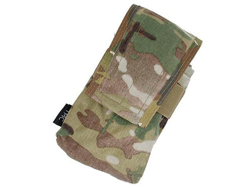 TMC Double Magazine Pouch for 417 Magazines - Multicam