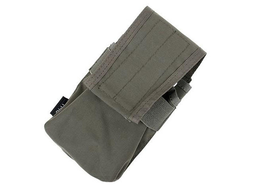 TMC Double Magazine Pouch for 417 Magazines - Ranger Green
