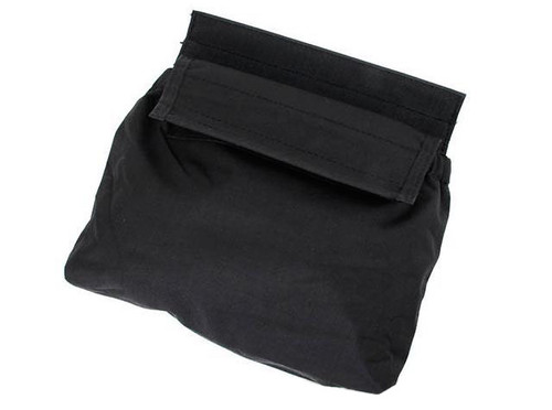 TMC Hook and Loop Roll-Up Dump Pouch - Black