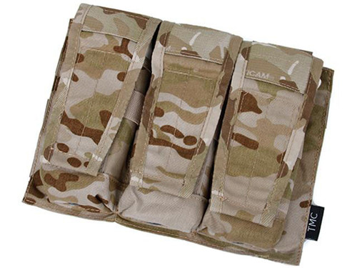Avengers MOLLE AVS Style M4 / M16 Triple Mag Pouch - Multicam Arid