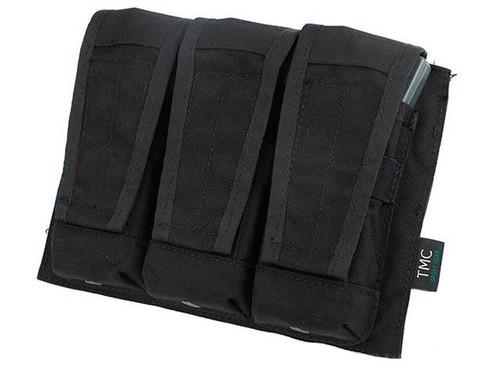 TMC MOLLE AVS Style M4 / M16 Triple Mag Pouch - Black