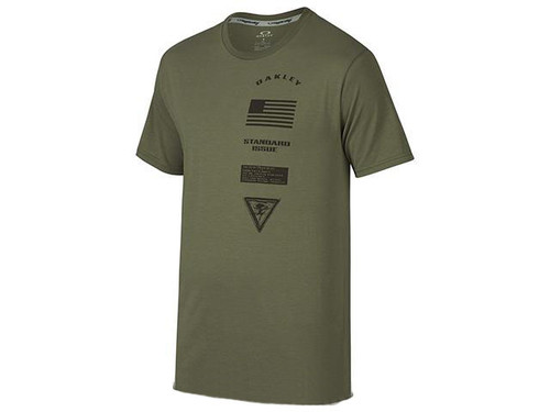 Oakley Insignia T-Shirt - Worn Olive (Size: X-Large)