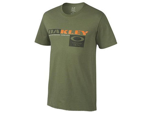 Oakley Trigger T-Shirt - Worn Olive (Size: Medium)