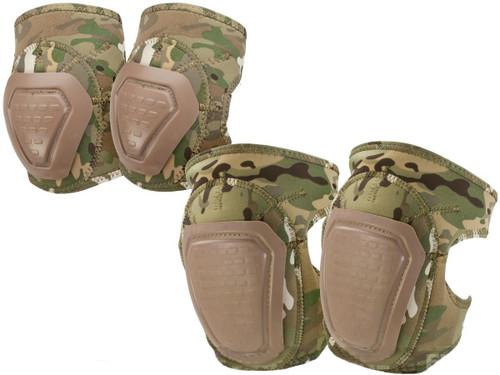 Matrix Bravo Advanced Neoprene Tactical Knee and Elbow Pad Set (Color: Camo)