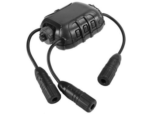 Z-Tactical Z118 Z40PS Classic Radio PTT - LITE Edition (Color Black)