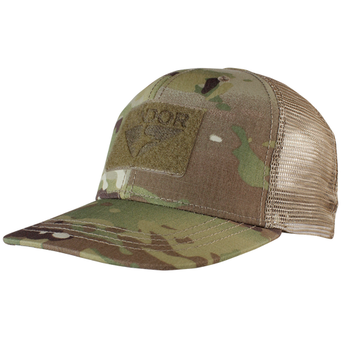 Condor Flat Bill Trucker Hat with MultiCam