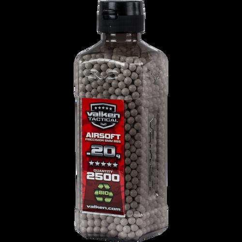 Valken Tactical 0.20g BIO BBs - 2500CT Bottle