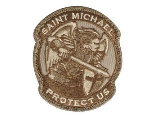 Mil-Spec Monkey Saint-M Modern Hook and Loop Patch - Desert