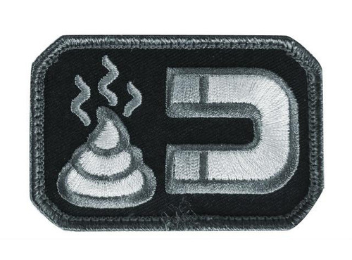 Mil-Spec Monkey Sht Magnet Hook and Loop Patch - SWAT