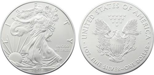 Silver Eagle Dollar - 2018