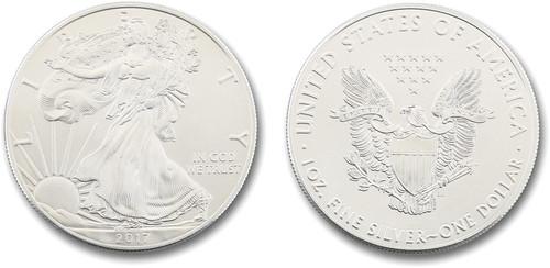 Silver Eagle Dollar - 2017