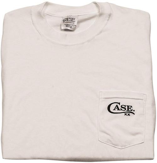 Pocket T-Shirt White Large