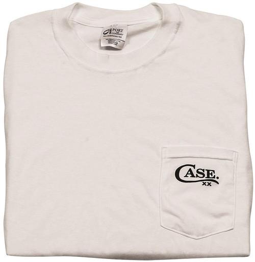 Pocket T-Shirt White Medium