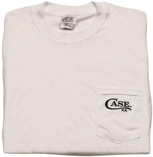 Pocket T-Shirt White Small